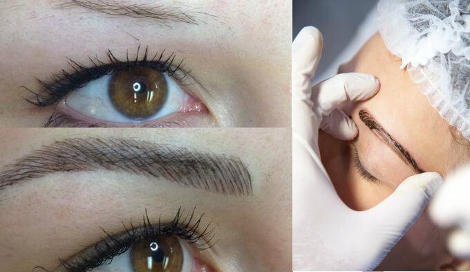 cómo desinflamar las cejas después del tatuado