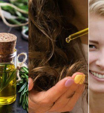 Beneficios aceite de romero en el cabello