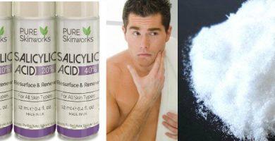 para qué sirve y beneficios del ácido salicílico en el rostro