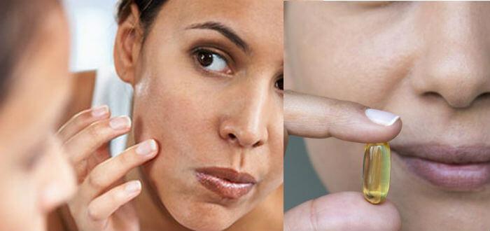 aplicar vitamina e en el rostro directo