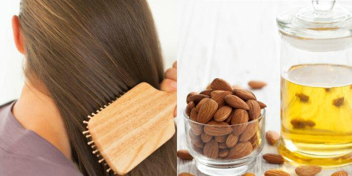 aceite de almendras en el cabello para que sirve