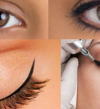 efectos secundarios y desventajas del delineado permanente de ojos