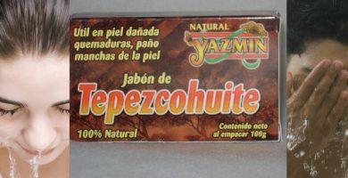 beneficios del jabón de tepezcohuite