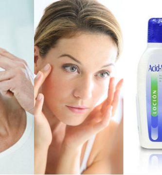 usos de la loción acid mantle en la piel