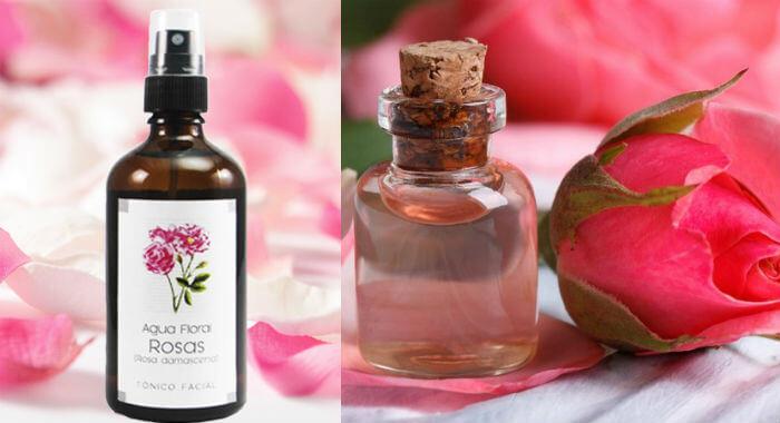 para qué sirve el agua de rosas en la cara y piel