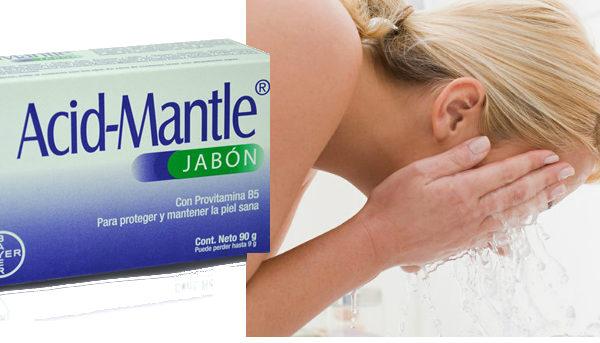 para que se utiliza el jabon acid mantle