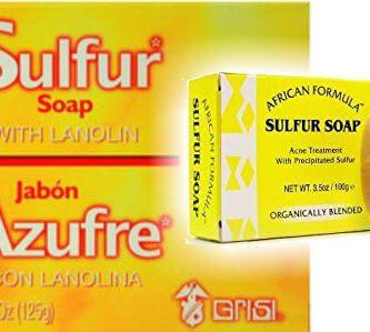 para qué sirve el jabón de azufre en el cuerpo