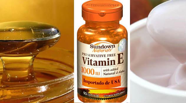para que sirve la vitamina e untada en la piel