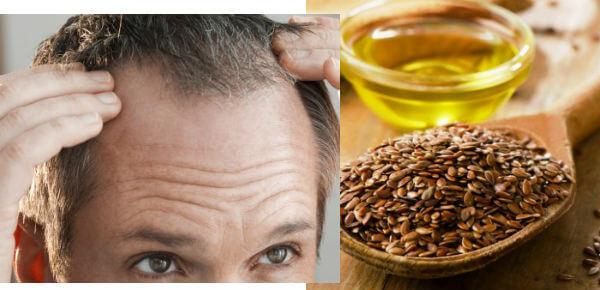 aceite de linaza para caida del pelo