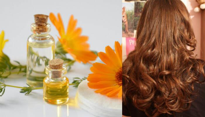 aceite de calendula para que sirve en el cabello