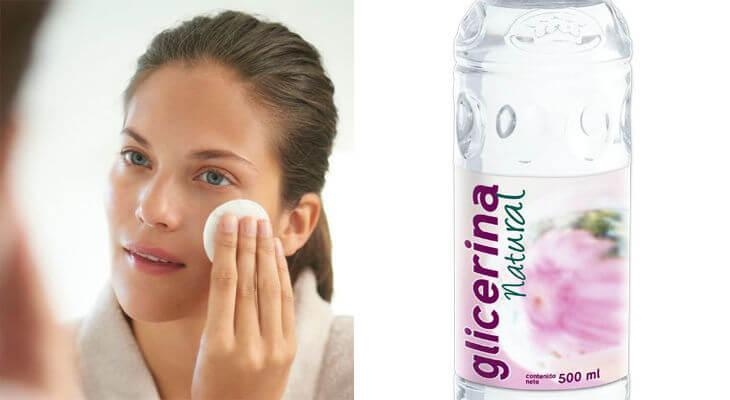para que sirve la glicerina en la cara