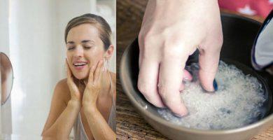 para que sirve agua de arroz en el rostro