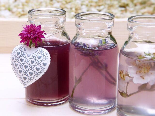 aromateriapia con flores